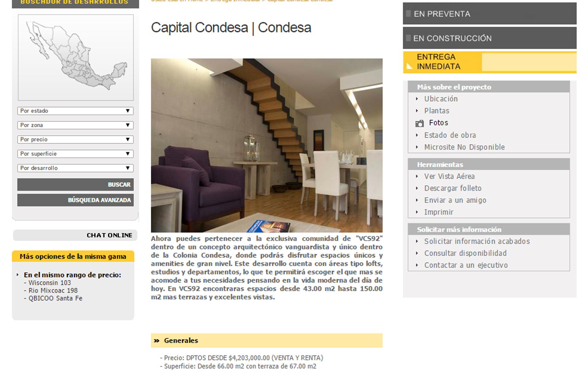CAPITAL CONDESA precios