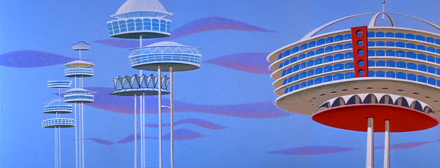 JETSONS-THE SPACE CAR
